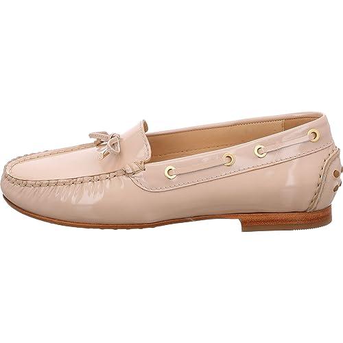 Sioux - Mocasines de Charol para Mujer Beige Beige: Amazon.es: Zapatos y complementos