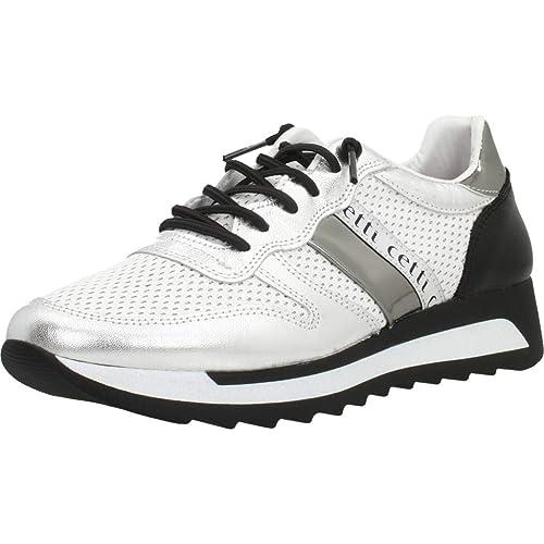 Calzado Deportivo para Mujer, Color Plateado, Marca CETTI, Modelo Calzado Deportivo para Mujer CETTI C1147 Plateado: Amazon.es: Zapatos y complementos