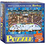 Eurographics Spot and Find-Hockey 100-Piece Puzzle