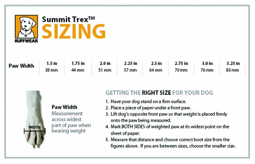 3.25 in RUFFWEAR 4 Boots Twilight Grey Summit Trex