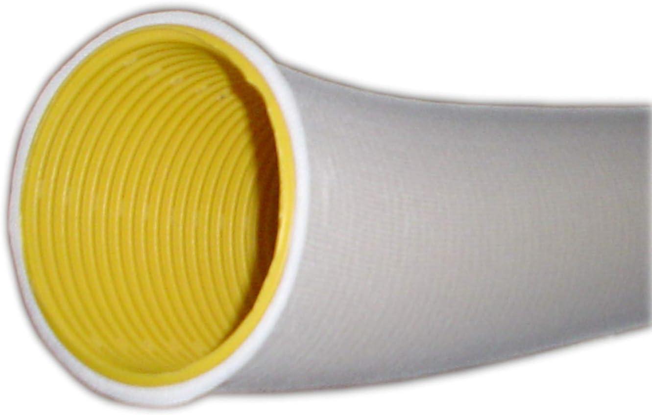 Tubo de drenaje DN 50 perforado amarillo (se vende por metros ...