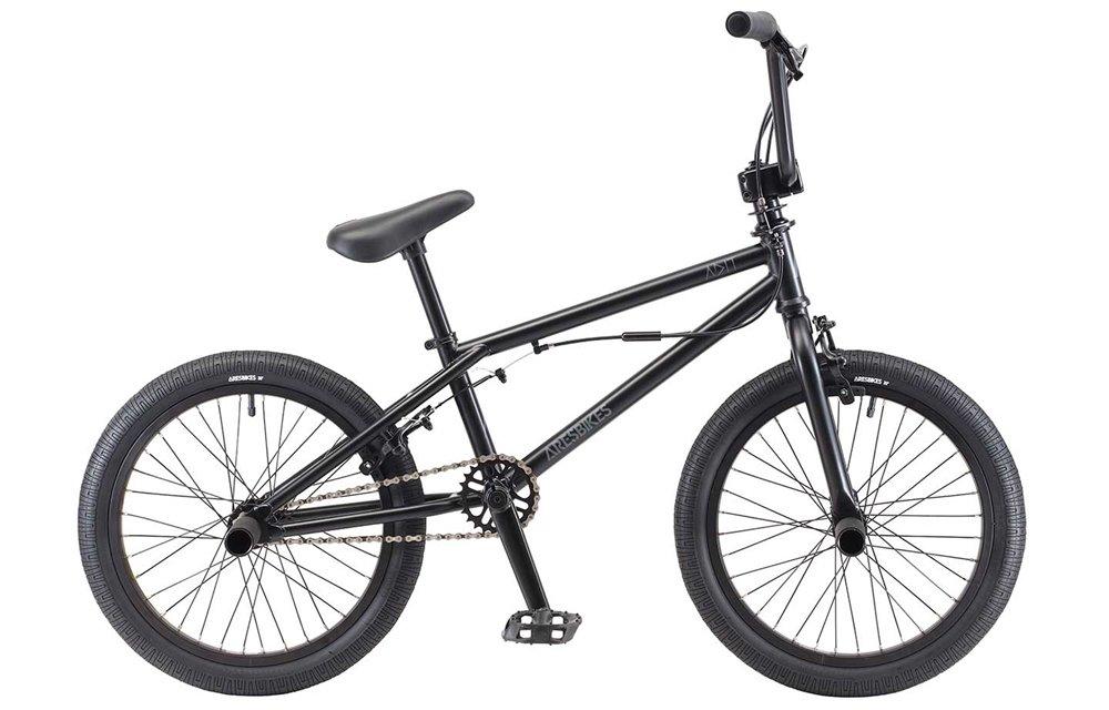ARESBIKES アーレスバイクス ADIT KIDS BMX 18インチ マットブラック B07DYSF4LY