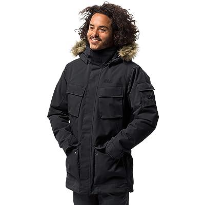 Jack Wolfskin Men's Glacier Canyon Parka Waterproof Insulated Field Jacket: Clothing