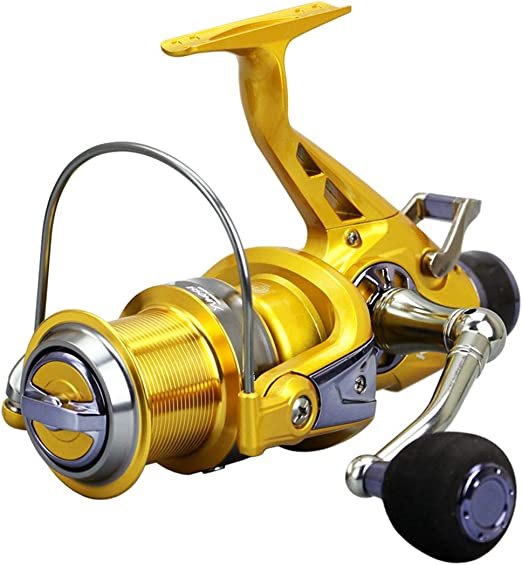 Acero Inoxidable Spinning Reel 50 60 Series Pesca Carretes Carpa ...