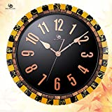 Jedfild Garden wall clock creative arts personality coconut shell-decorated living room table Clock
