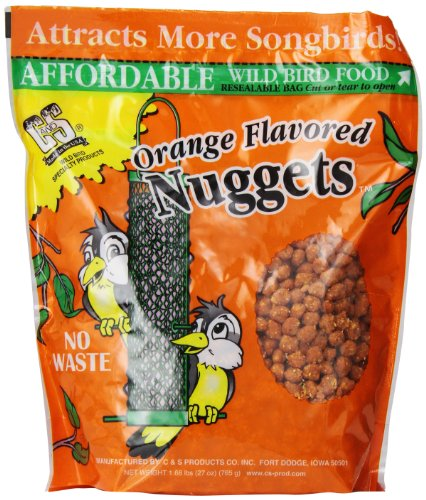 C & S Products Orange Flavored Nuggets, Pack Of 6