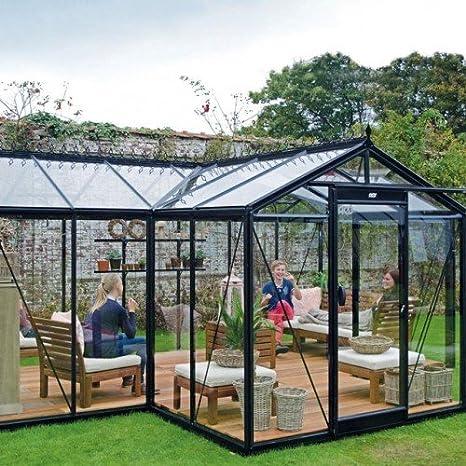 Cristal de invernadero Orangerie Melina 15, 4 m²: Amazon.es: Jardín