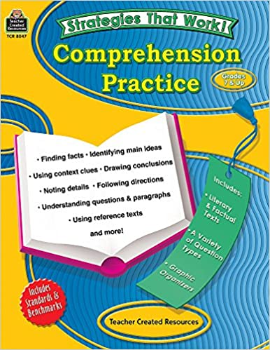 Strategies That Work Comprehension Practice Grades 7 Up Paperback May 31 2007