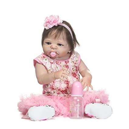 LLX Nicery Completo Vinilo De Silicona Reborn Baby Doll ...
