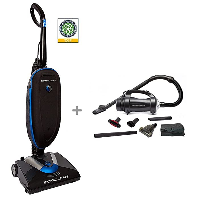 Soniclean Galaxy Upright Vacuum Cleaner/Handheld Combo
