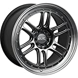 XXR 552 18 Hyperblack Wheel / Rim 5x100 & 5x4.5 with a 36mm Offset and a 73.1 Hub Bore. Partnumber 552881051