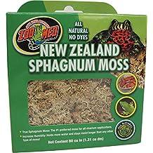 Zoo Med Laboratories SZMCF3NZ New Zealand Sphagnum Moss, 80 Cubic Inch