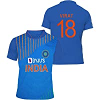 uniq Indian Cricket Team ODI Jersey 2018-2019- (for Kids&Men's)