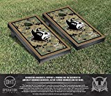 NCAA Wofford College Terriers Border Version Operation Hat Trick Cornhole Game Set