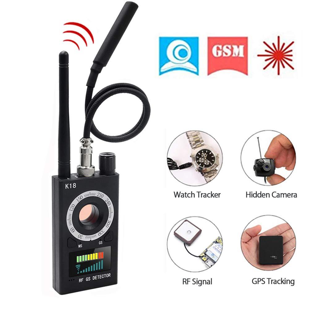 Anti Spy Detector Wireless RF Signal Detector 2019 Latest Upgraded,  Zonlicat Camera Finder Radio Scanner Hidden Camera Detector, GPS Bug  Detector GSM