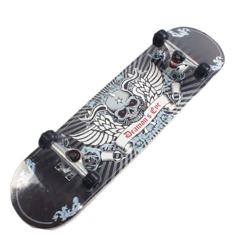 特別版キャスタープレートStreet Skateboard Adult Street Longboard Skateboard Plus Maple Double Panel Extreme Sports Teen skateboarding fga54h