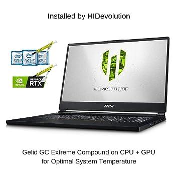 Amazon.com: HIDevolution MSI WS65 9TM-1079 15.6