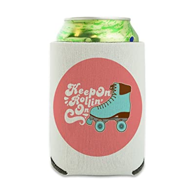 Roller Derby Continuer à rouler Skating Can Cooler – Boisson Sleeve Hugger  pliable isolant – Boisson isotherme support 89f21b953fb9