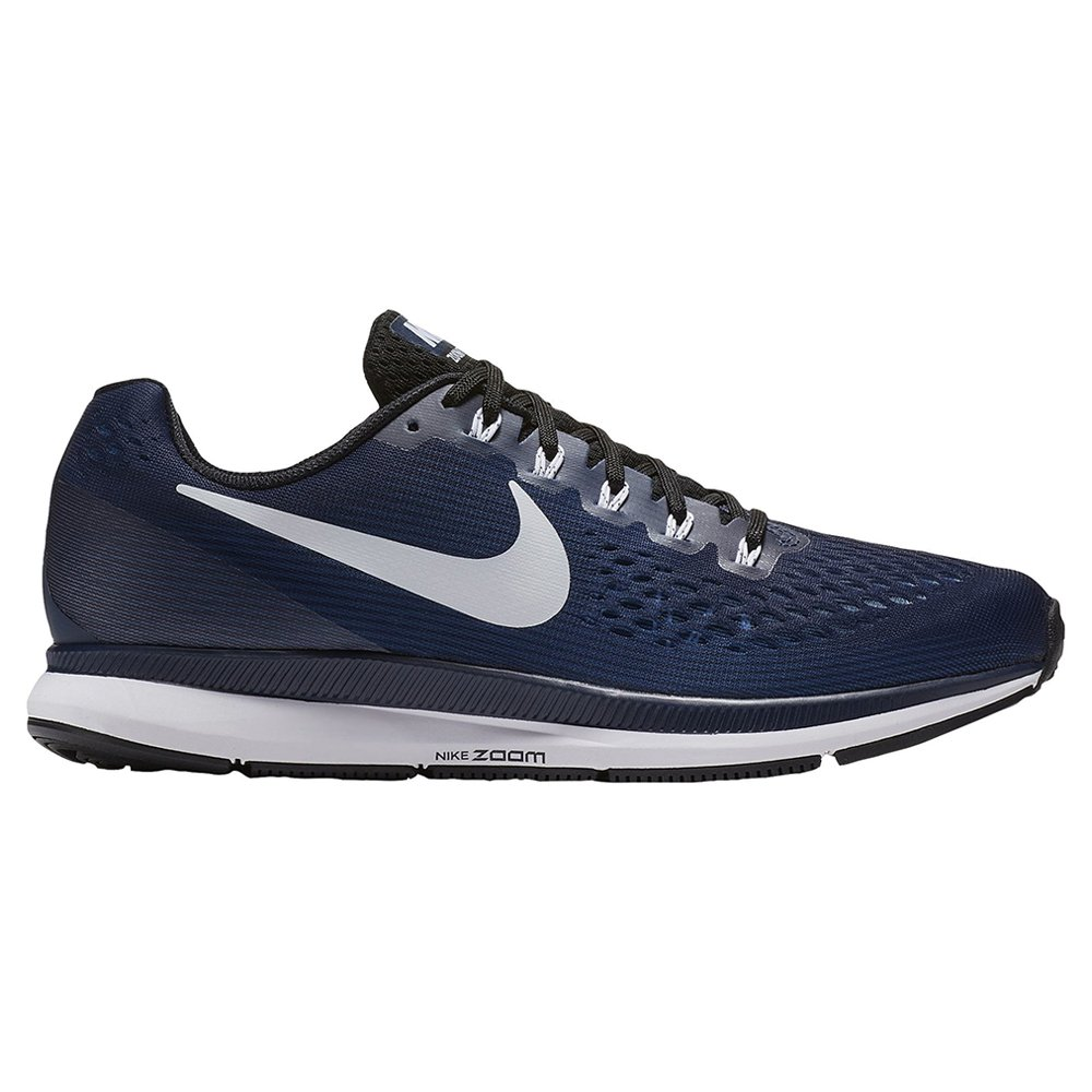 3193bba71269a Nike Air Zoom Pegasus 34 TB Men's Running Shoes (12.5, Midnight  Navy/White/Black)