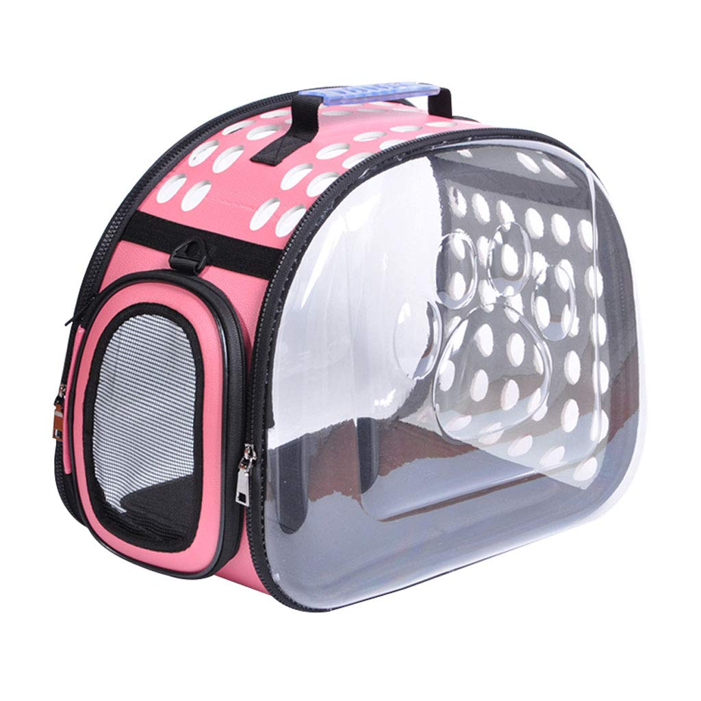 M Pet Backpack Out Carrying Bag Dog Bag Portable Space Bag Cat Backpack (Size   M)