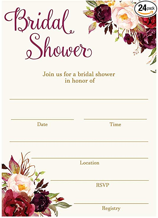 bridal shower decoration ideas homemade.htm amazon com bridal shower invitations fill in the blank invites  amazon com bridal shower invitations