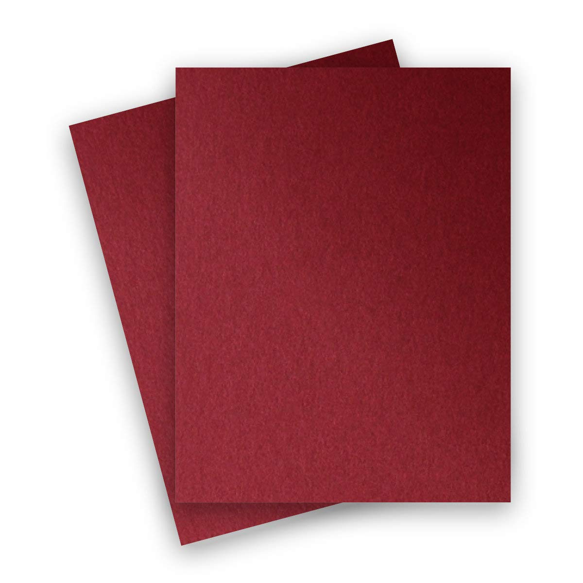 Metallic Dark Red Mars 8-1/2-x-11 Lightweight Multi-use Paper 25-pk - PaperPapers 120 GSM (81lb Text) Letter size Everyday Metallic Paper - Professionals, Designers, Crafters and DIY Projects by Paper Papers