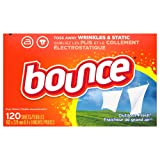 Bounce Fabric Softener Dryer Sheets for Static
