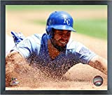 "Eric Hosmer Kansas City Royals 2016 MLB Action Photo(Size: 17"" x 21"") Framed"