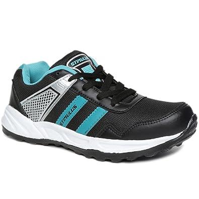 14c1110e8 PARAGON Stimulus Men s Black Sports Shoes  Buy Online at Low Prices ...