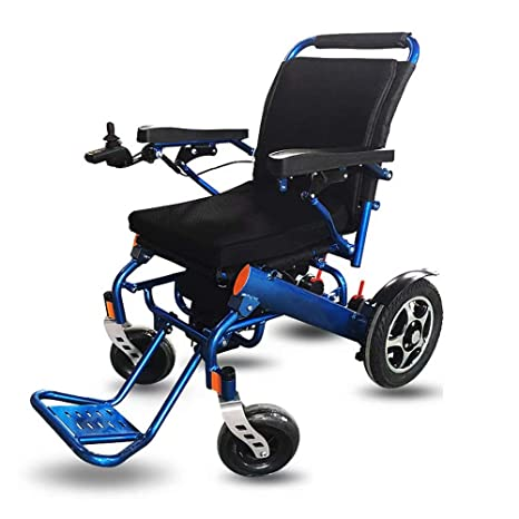 wheelchair Silla de Ruedas eléctrica Plegable Plegable ...