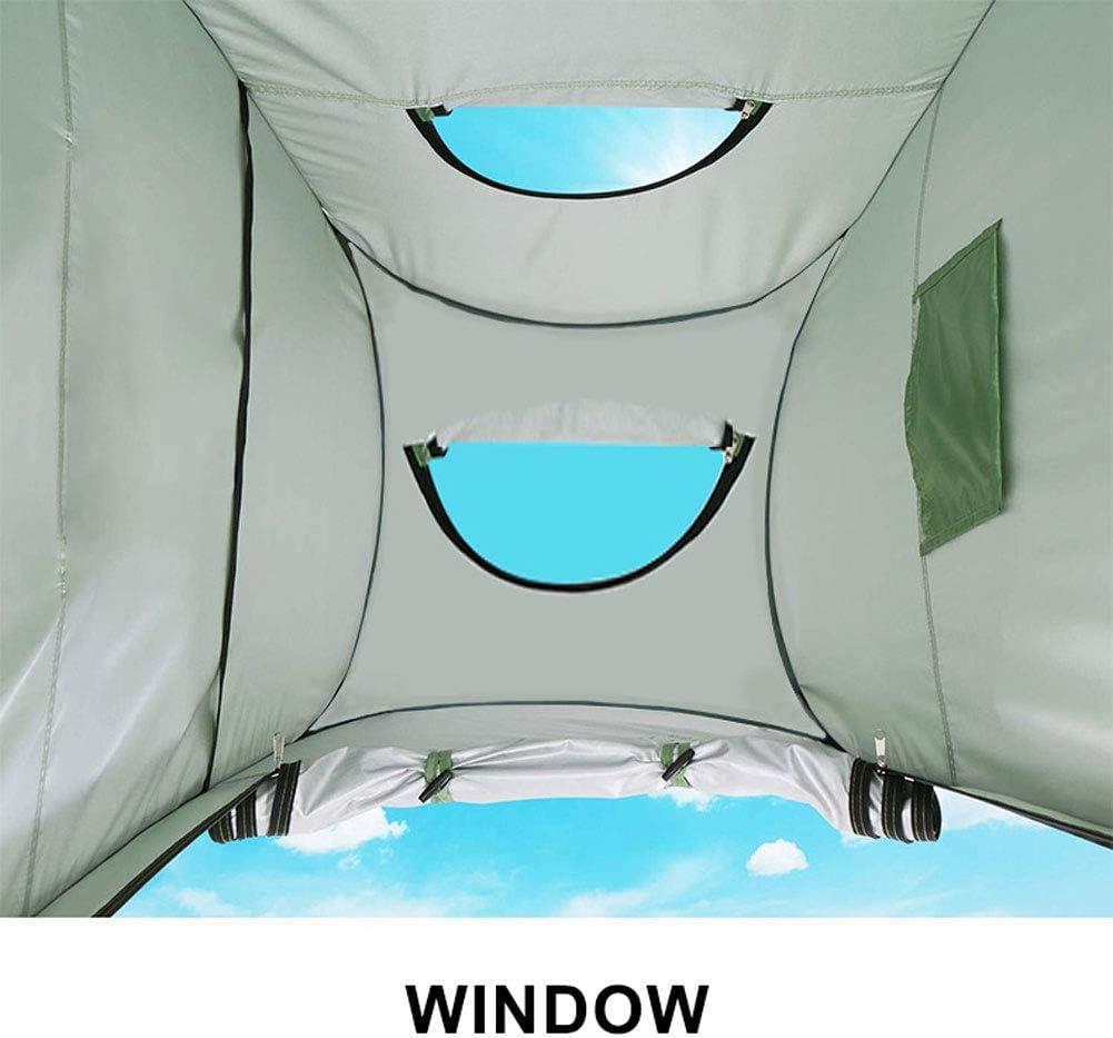 QWEASD Tienda De Campaña para Ducha, Portátil Vestidor Refugio De Privacidad, para Acampar Al Aire Libre Pesca Playa Plato De Ducha Blue