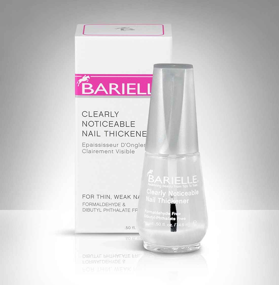 Barielle protect plus color nail strengthener nail polish - pink images
