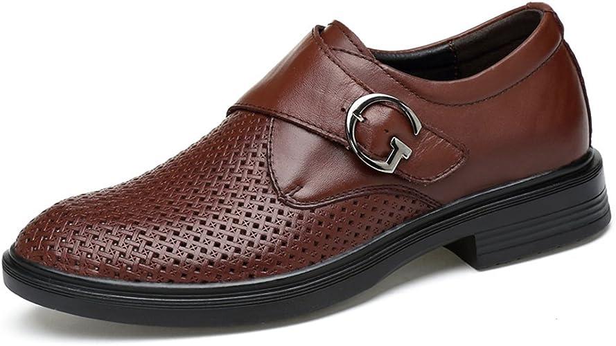 ailishabroy Männer Sommer Atmungsaktiv Hohle Schuhe Herren