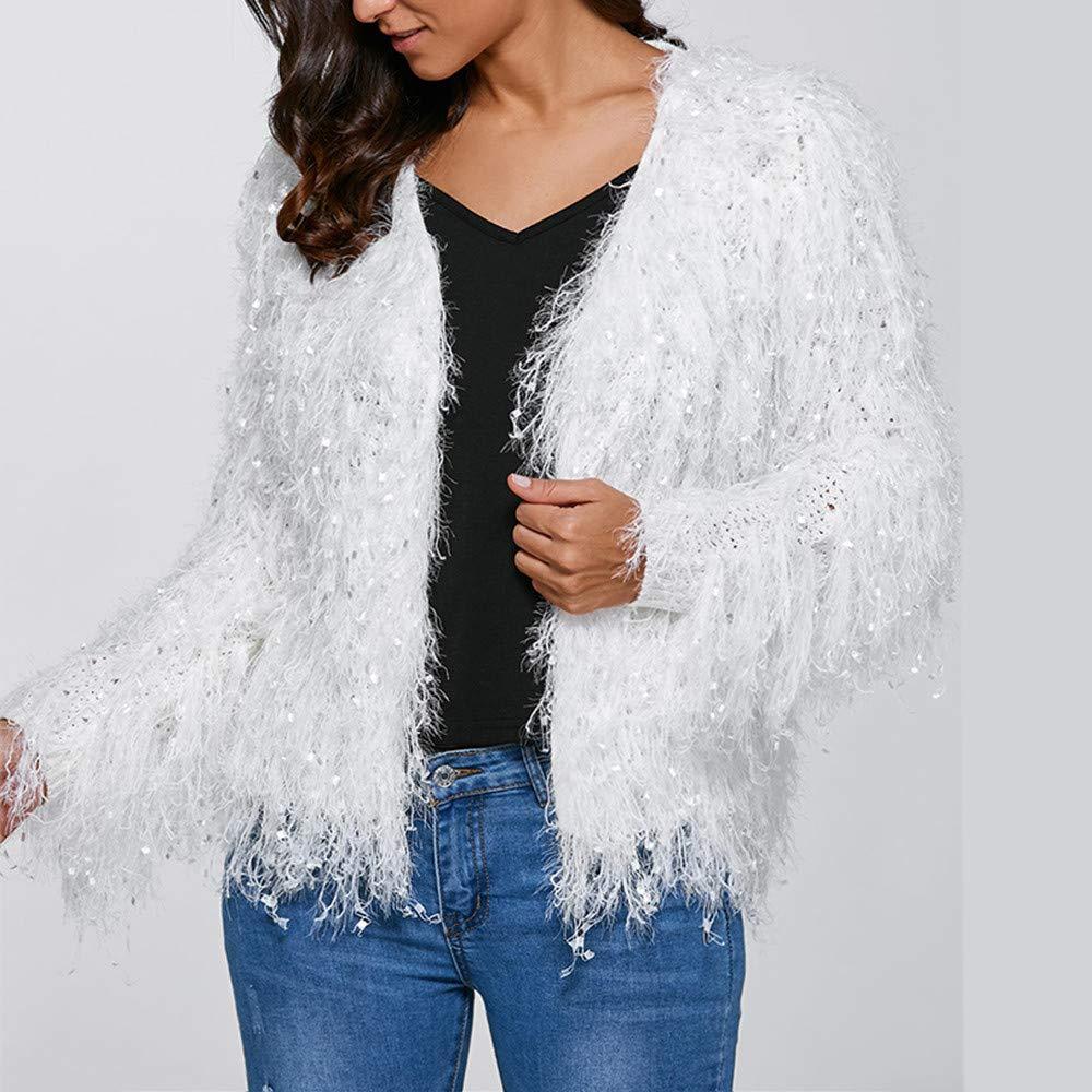 Linlink Liquidación Mujeres de Moda con Cuello en V borlas de ...
