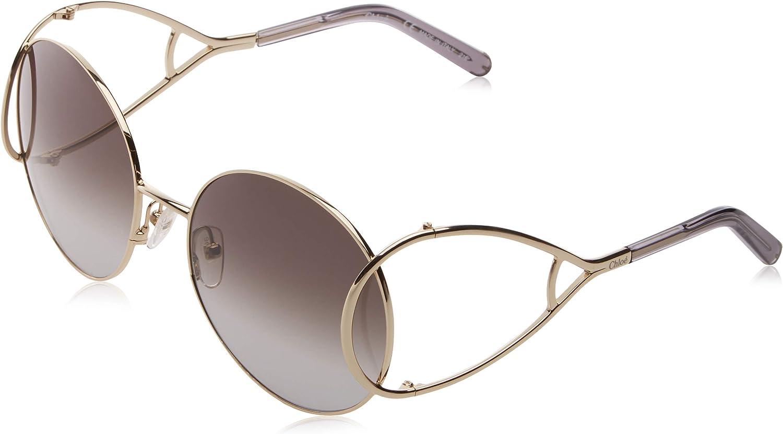 Chloè CE122S 744 59 Gafas de sol, Gold/Grey, Mujer: Amazon.es: Ropa y accesorios