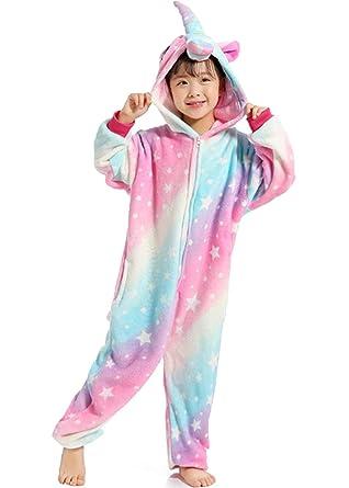 ffa6e2f3c Z-Chen - Kinder Pyjama Strampler Schlafanzug Tier Kostüm für ...