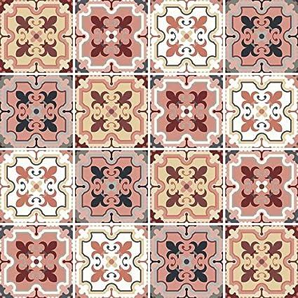 Immagine Piastrelle Patchwork Adesivi per Piastrelle da ...