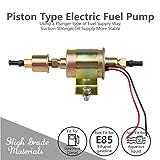 CarBole Universal Electric Fuel Pump Self- primming