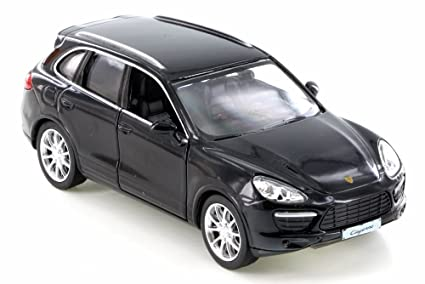 RMZ City Porsche Cayenne Turbo, Black 555014 - Diecast Model Toy Car but NO BOX