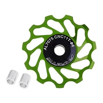 2Pcs 11T MTB Ceramic Bearing Jockey Wheel Pulley Road Bicycle Derailleur Durable