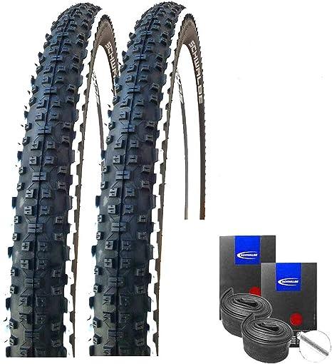 Schwalbe Rapid Rob White Stripes - Juego de 2 neumáticos para ...