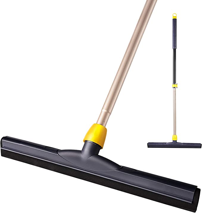 Yocada Floor Squeegee 51 in Broom Perfect for Shower Bathroom Kitchen Home Tile