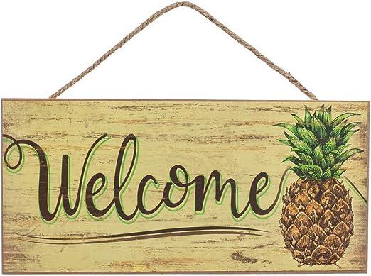 Amazon.com: Losea - Cartel de madera para colgar en la ...