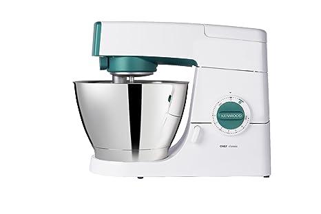 Kenwood KM353S Chef Classic Robot da Cucina, Bianco con Finitura Blu ...