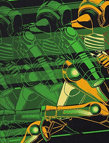 Nerd Rapid Metroid hombre Snes Gamer para Nes Geek Hunter Camiseta Hormiga YqwC4q