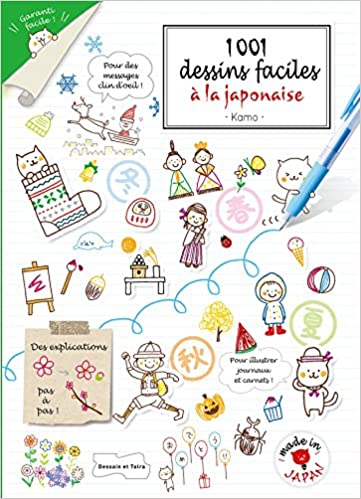 Amazon Fr 1001 Dessins Faciles A La Japonaise Collectif