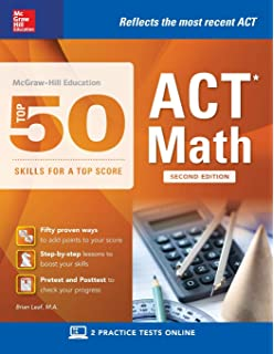 McGraw-Hill's Top 50 Skills for a Top Score: ACT Math: Brian Leaf