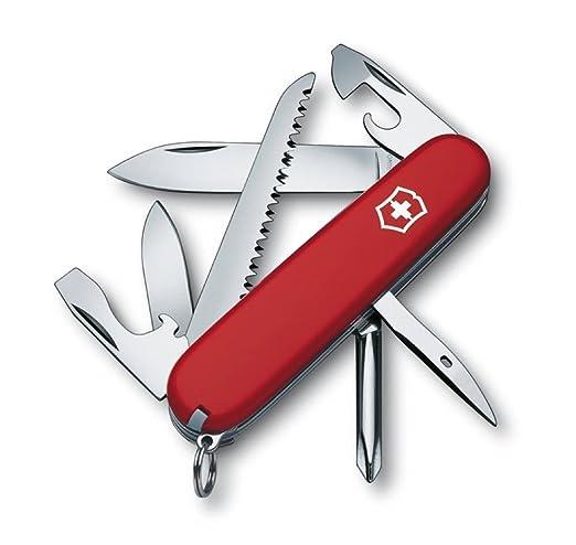 123 opinioni per Victorinox- Coltellino Multiuso 91mm- Hiker Rosso V-1.4613