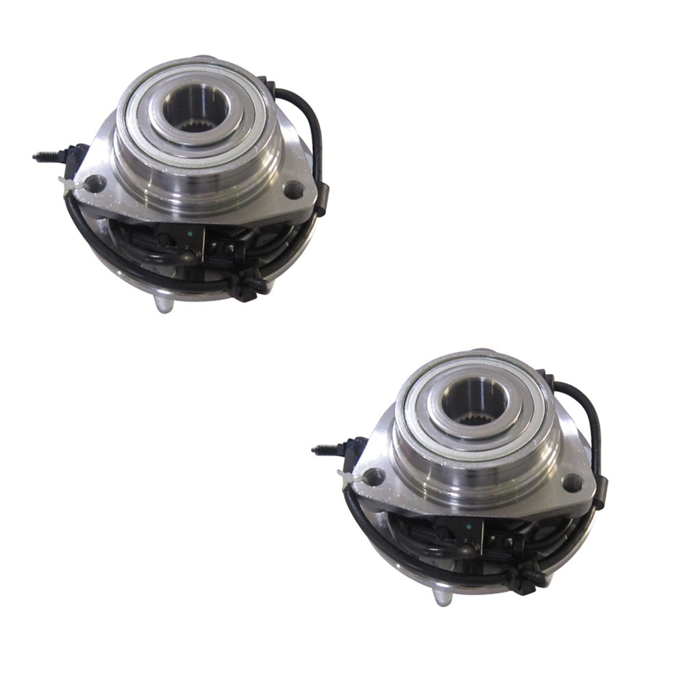 DRIVESTAR 513188X2 (Pair) New Premium Hub Bearing Assembly w/ABS FOR 2002-2009 GMC CHEVY