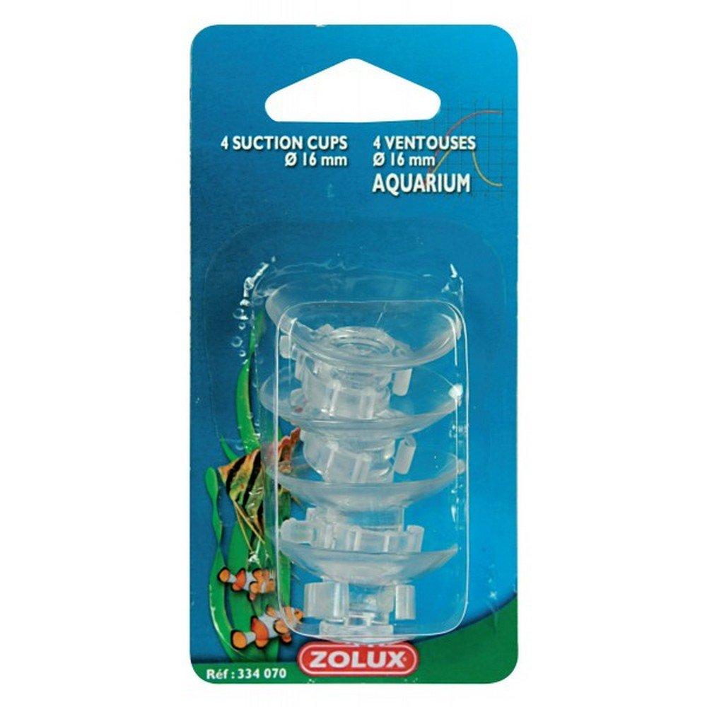 Zolux Set de 4 Ventouses pour Tuyau /à Air Taille L